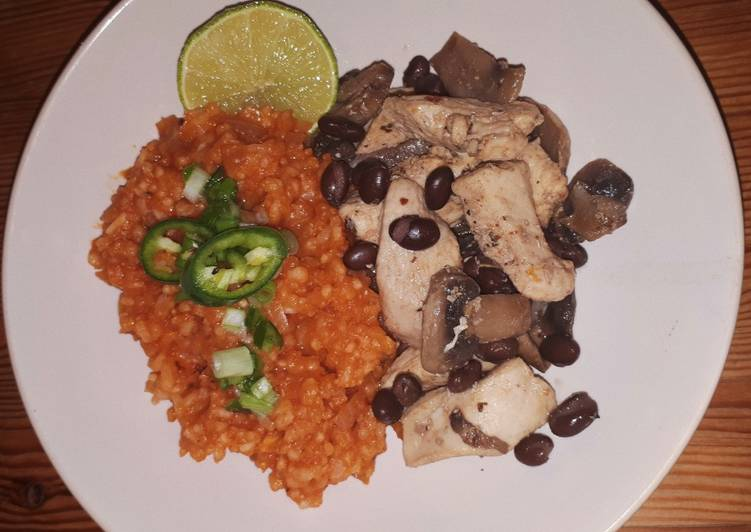 Mexican Rice and Chicken
