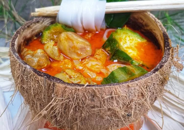 Ayam Adun khas Madura-Kwetiau & Oyong