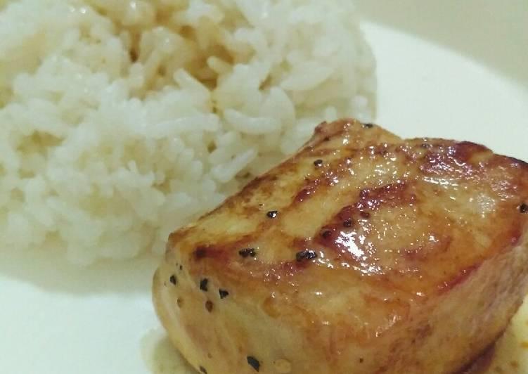 Resep 2 Gindara Steak Menu Mpasi 12m Oleh Tuti Hidayati Cookpad