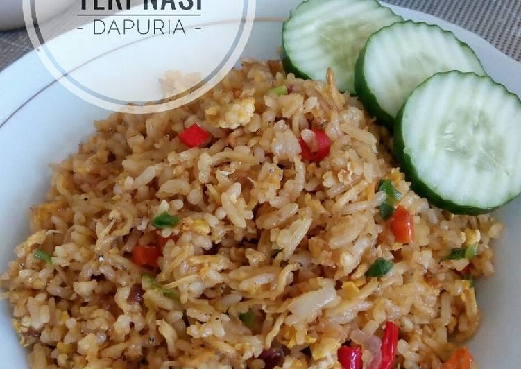 Nasi Goreng Teri Nasi