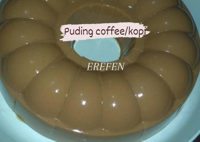 Puding coffee / kopi