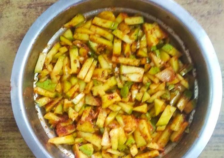 Recipe of Most Popular Instant Mango Pickle