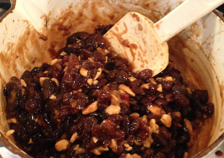 Recipe of Perfect Last-minute Christmas Mincemeat