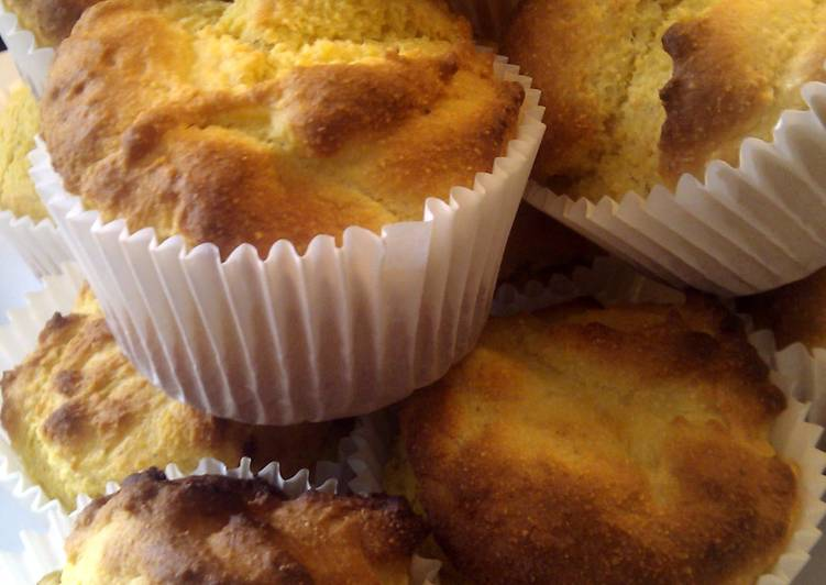 Recipe of Favorite Cornmeal  Muffins