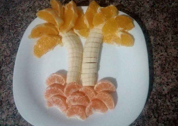 Fruits d'automne en assiette