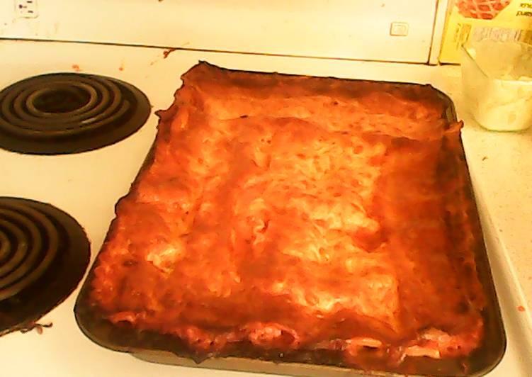Recipe: Yummy easy bake lasagna