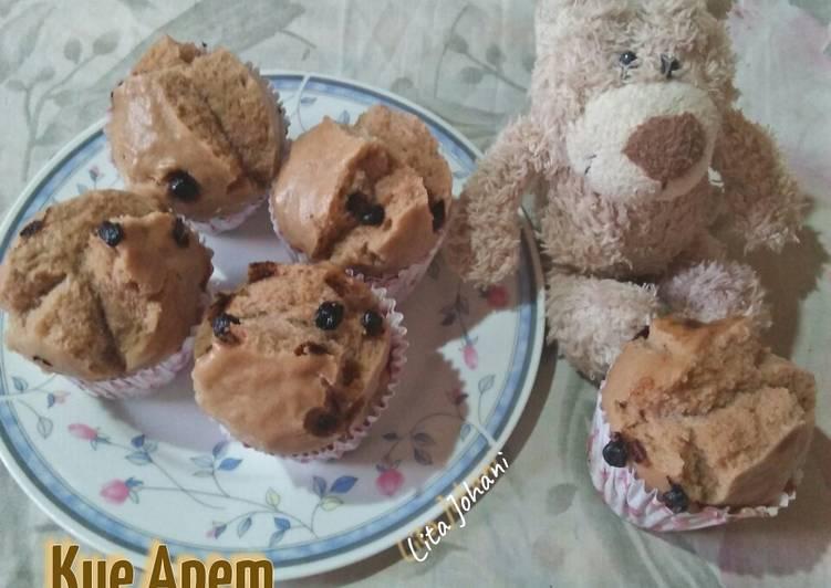 Kue Apem Coklat Choco Chip - ganmen-kokoku.com