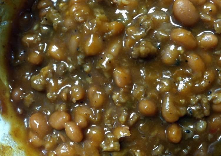 Kick ASS Loaded BBQ Beans