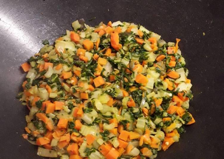 Fricassée de chou pak choi et carottes