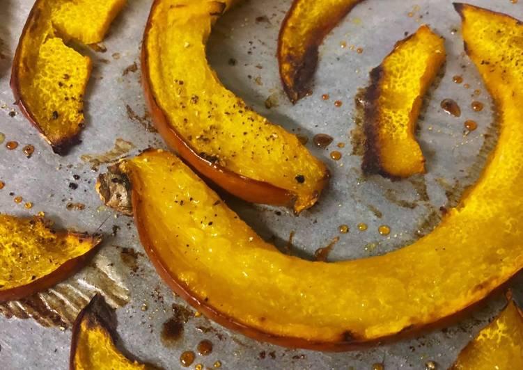 Recette: Citrouille rôtie au four