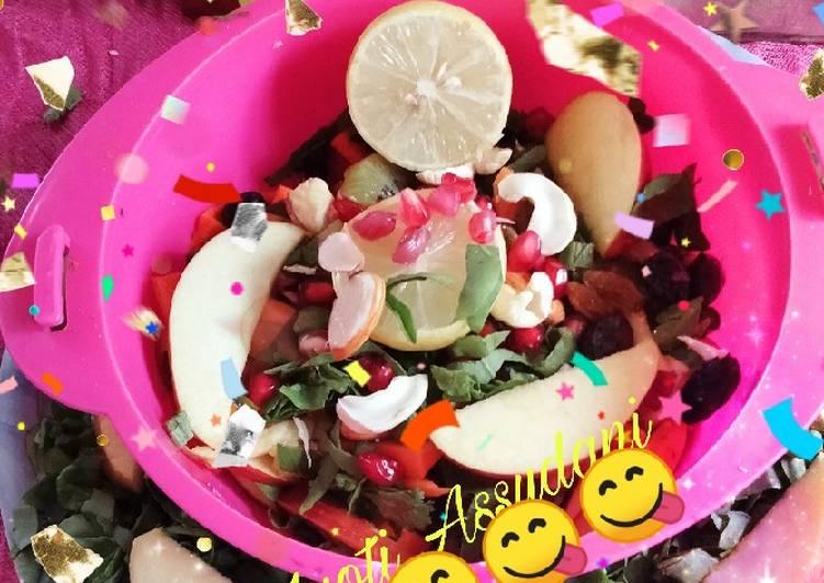 Detox Salad Bowl 🥒🥝🍯😋🥝🥝😋