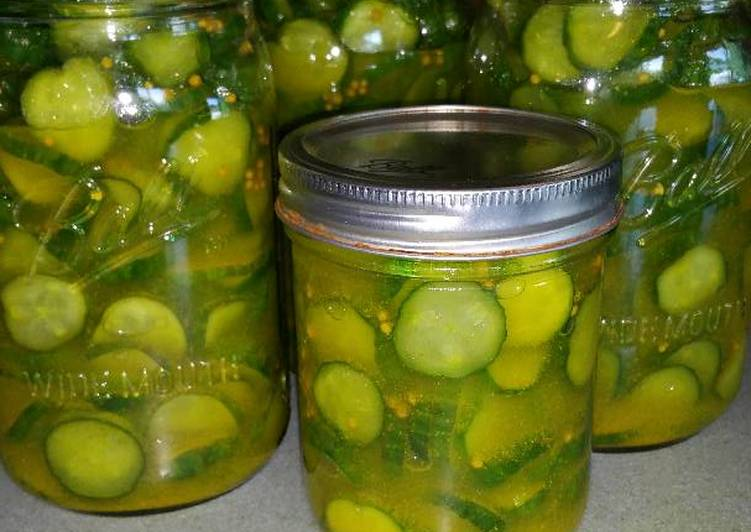 Recipe of Award-winning Bread & Butter Pickles