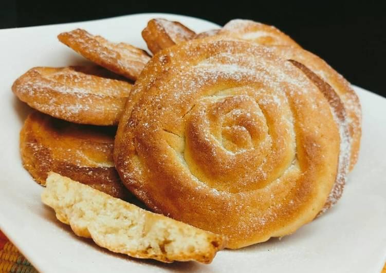 Simple lemongrass&vanilla cookies #charityrecipe#4weekschallenge