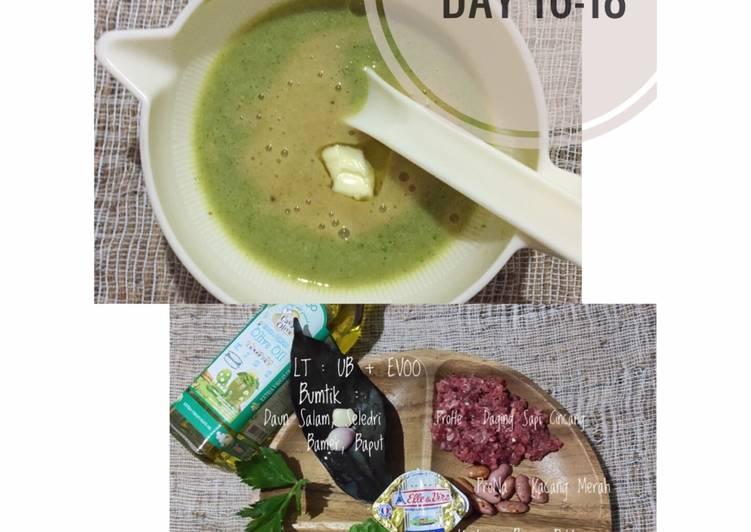Cara Mudah Menyiapkan Appetizing Mpasi 6 Bulan 4 Bintang Daging Sapi Bayam