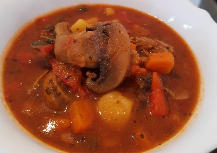 ,,Lżejsza zupa gulaszowa,,