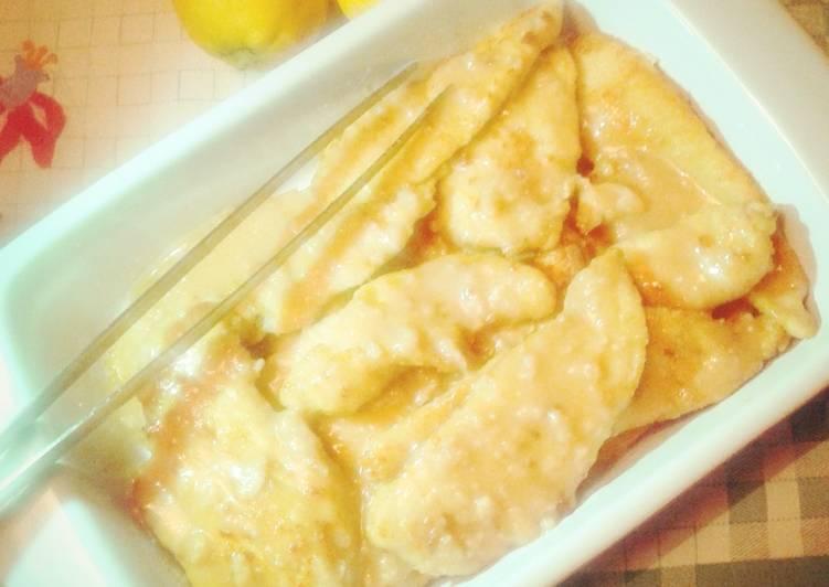 Ricetta light : pollo al limone