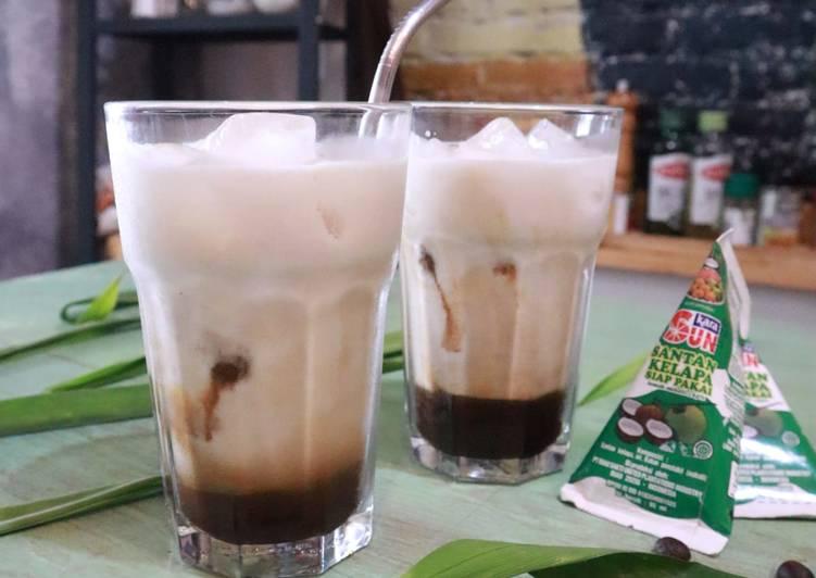 Ice Coffee Santan || Es Kopi Rempah 🍹