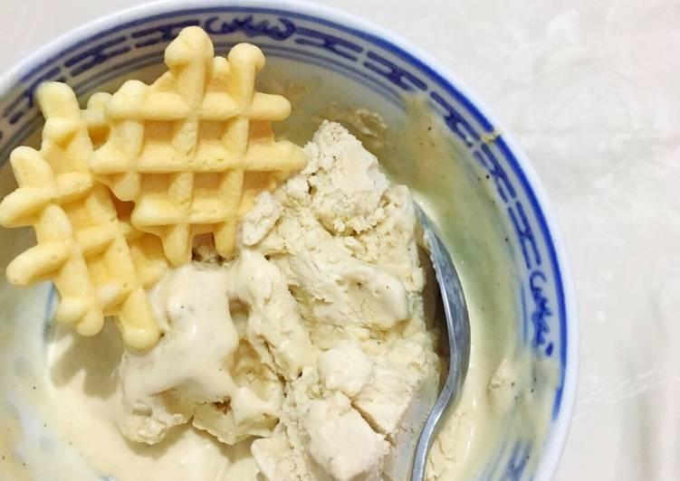 No Churn Coffee Ice Cream