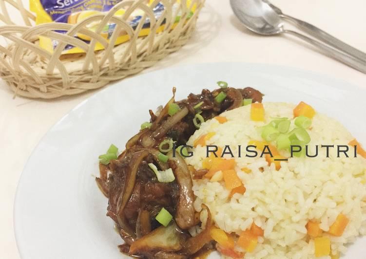 Resep Ayam Goreng Mentega Dgn Nasi Blueband Oleh Putri Raisa Cookpad
