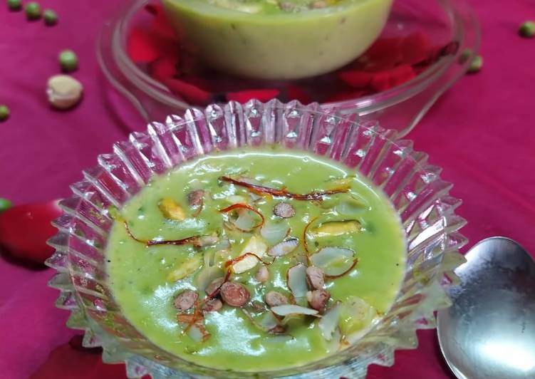 Recipe of Award-winning Green Peas Kheer