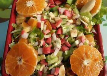 Easiest Way to Make Appetizing Fruity  veggie Salad