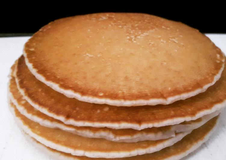 Simple Way to Prepare Homemade Pancake