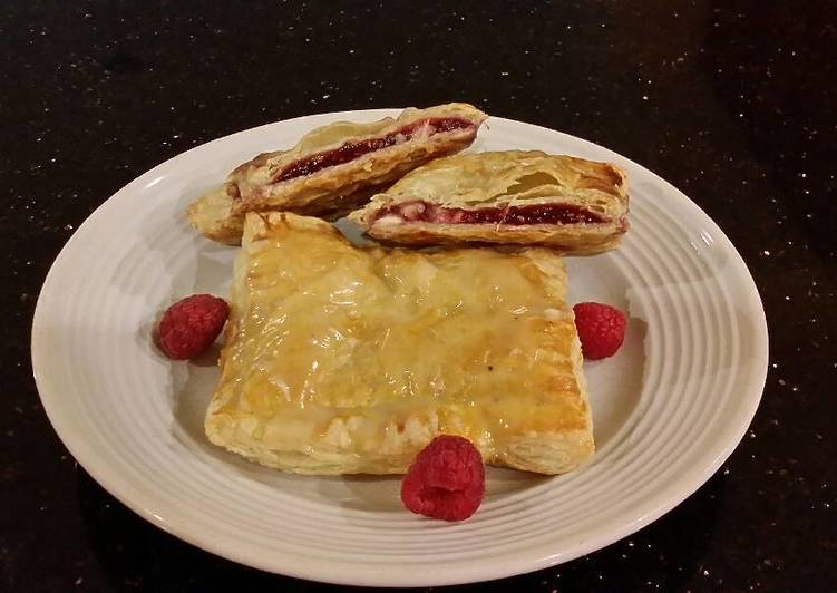 Step-by-Step Guide to Prepare Favorite Raspberry White Chocolate Pastry Strudels