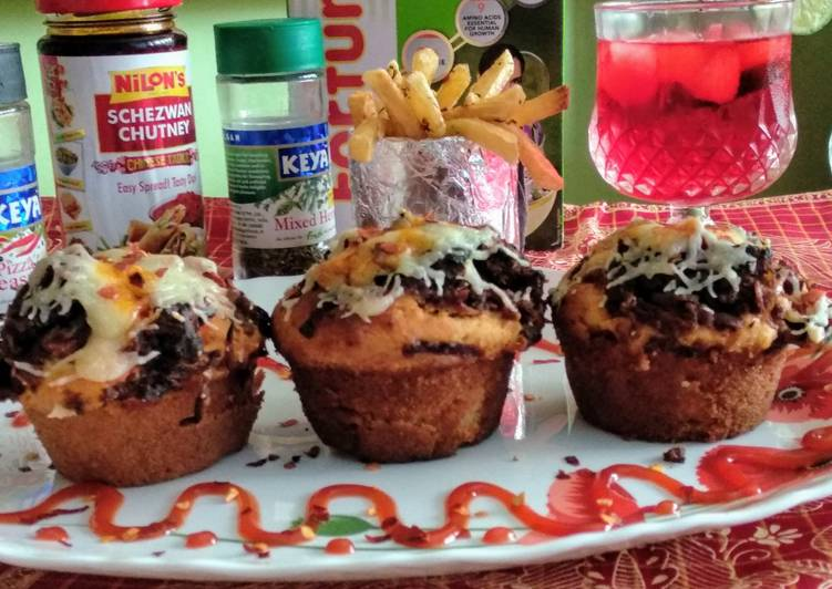 Chilli soya margarita muffins