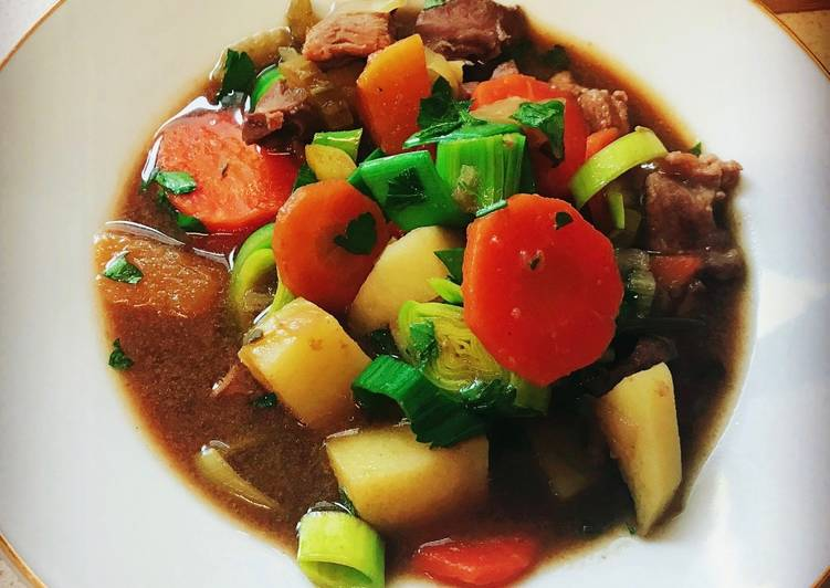 Traditional Welsh Lamb Cawl