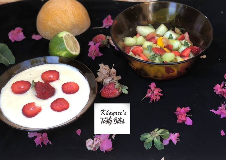Going Green for Better Health By Consuming Superfoods Fruit salad