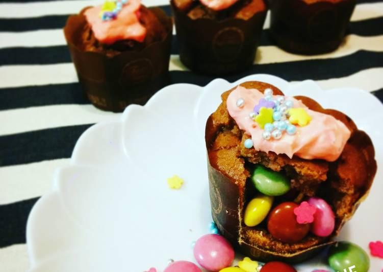 Hide and Seak! Gluten-free Cupcakes