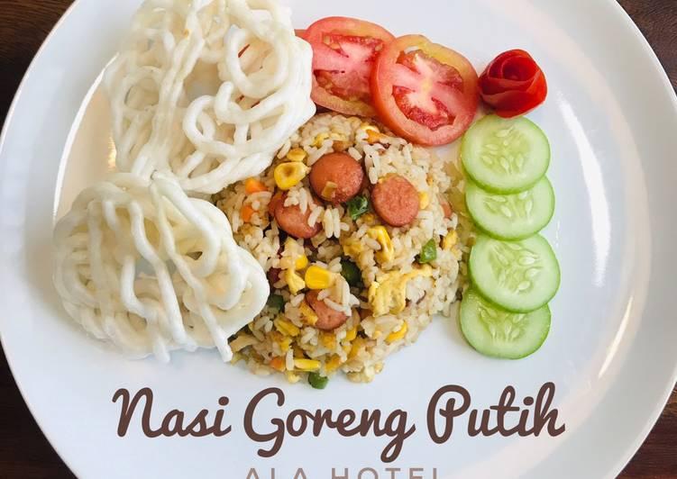 Nasi Goreng Putih (ala hotel)