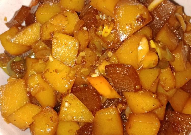 119. Sambal goreng kentang krecek
