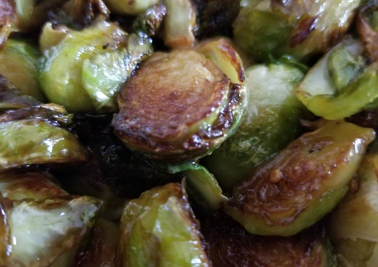 Recipe: Yummy Caramelized Brussels Sprouts