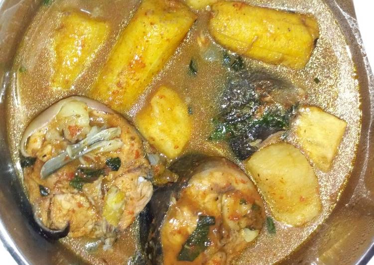 Recipe of Homemade Fish pepper soup