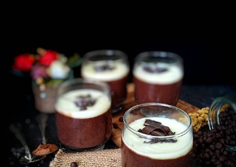 Chocolate silky puding