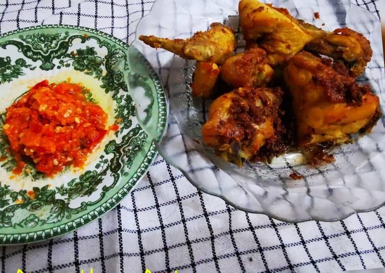 Ayam Goreng Lengkuas & Sambal Bawang