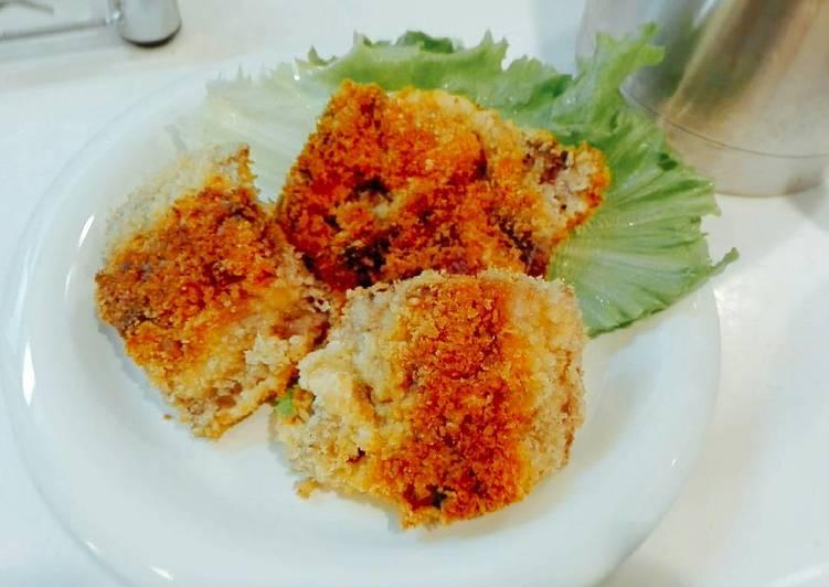 Maguro Katsu - Deep fried tuna cutlet