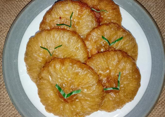 Resep Kue Cucur Gula Aren, Lezat