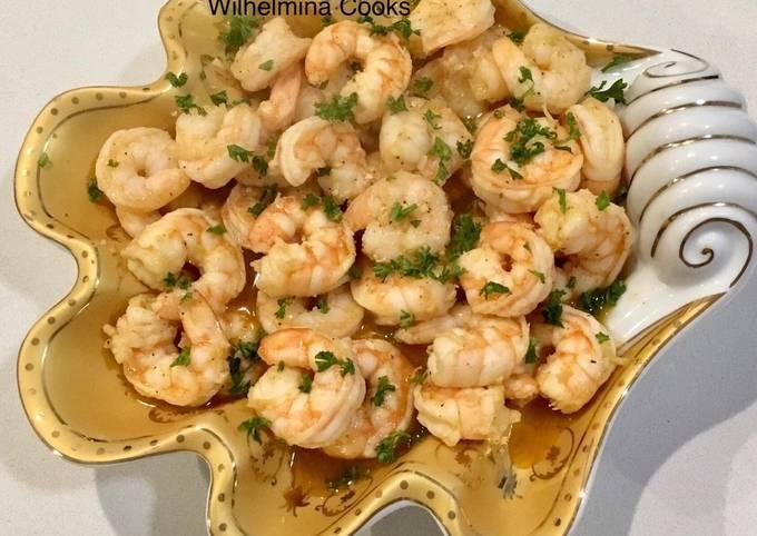 Recipe: Yummy Gambas Al Ajillo (Spanish Garlic Shrimp)