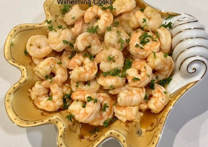 Gambas Al Ajillo (Spanish Garlic Shrimp)🇪🇸
