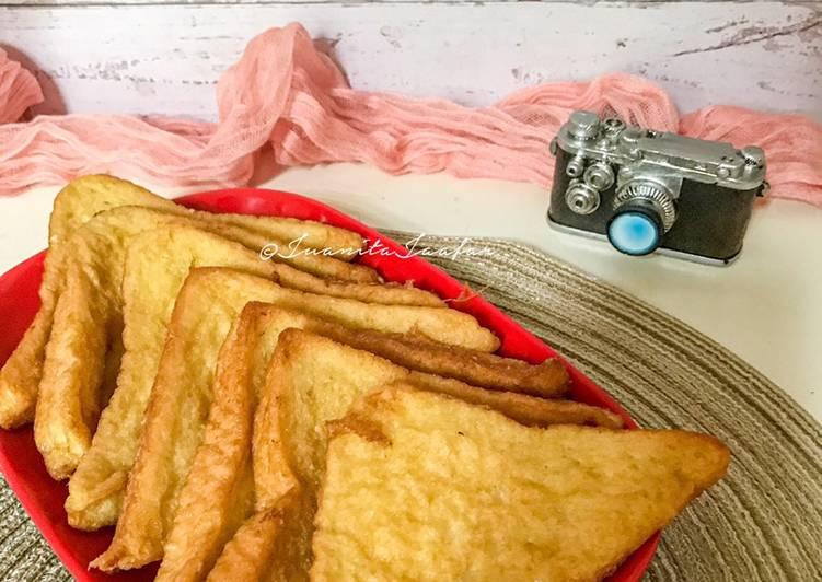 Fried French Toast @ Roti Telur Goreng
