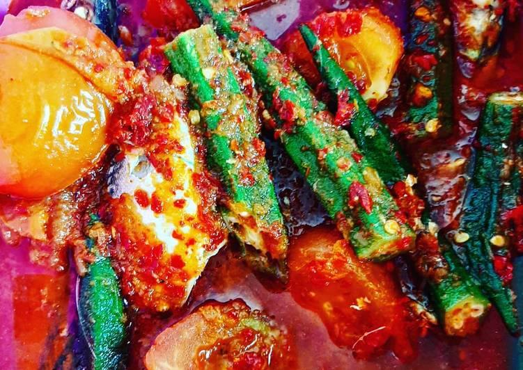 Asam pedas ikan kembung paling mudah