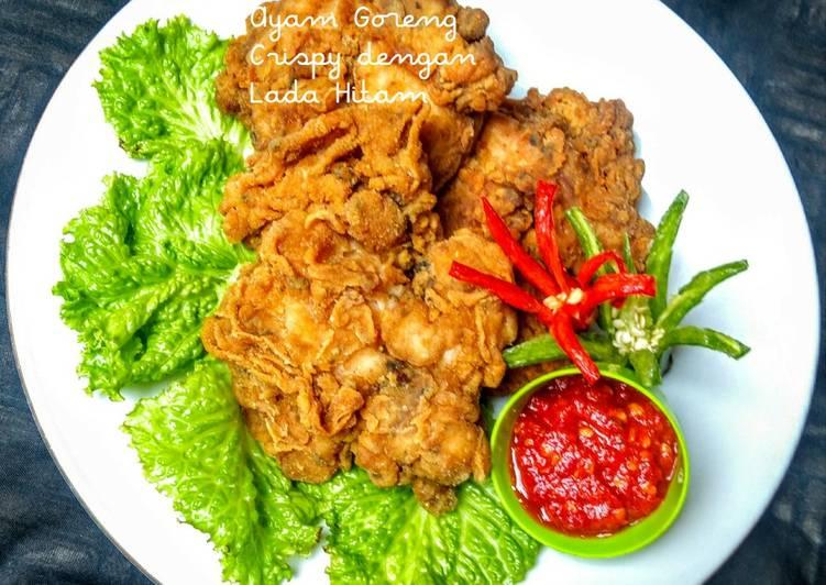 Ayam Goreng Tepung Lada Hitam
