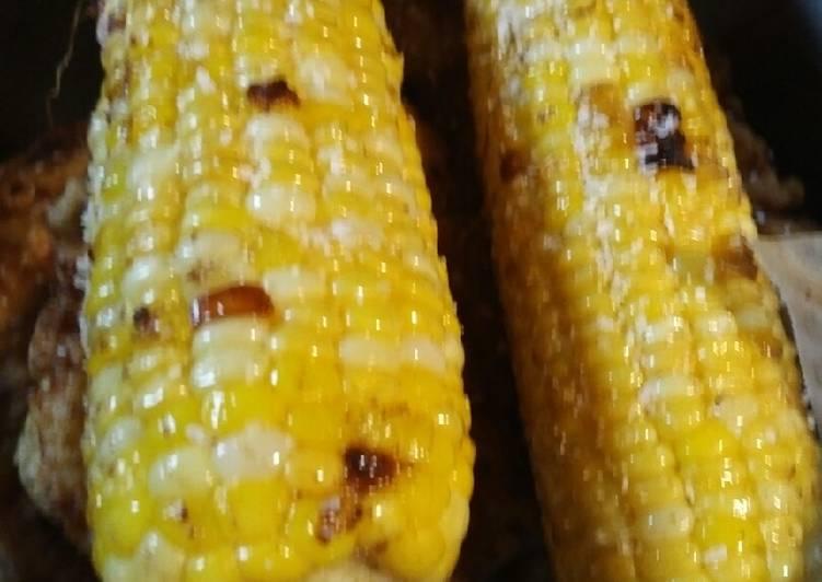 Fried Corn on the Cobb