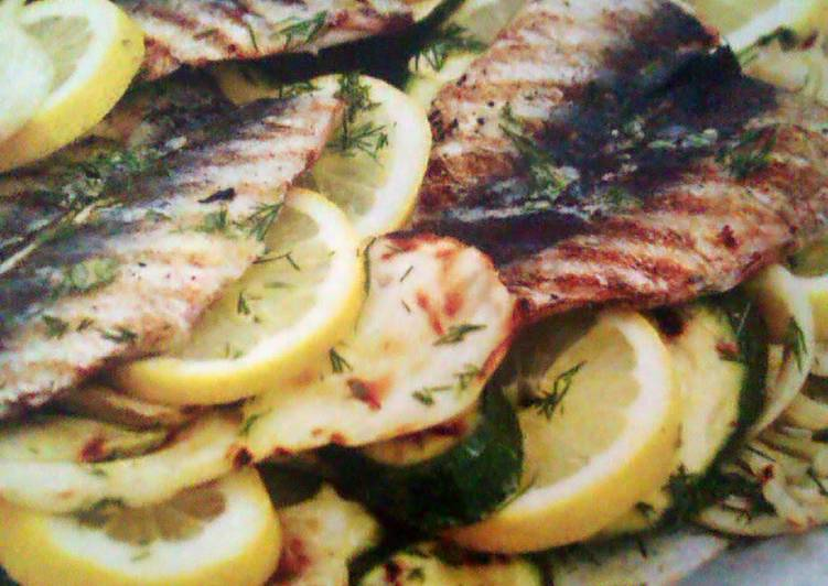 Top 10 Dinner Easy Royal butterfly sardines with lemony fennel salad.