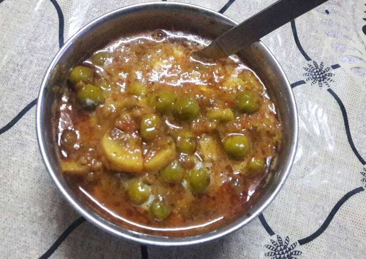 Mushroom with Peas