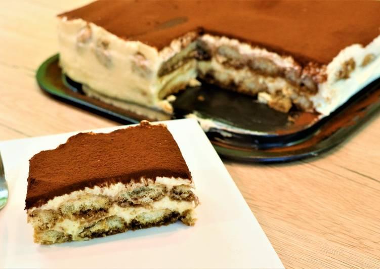 Tiramisu Classic Italian Dessert Recipe