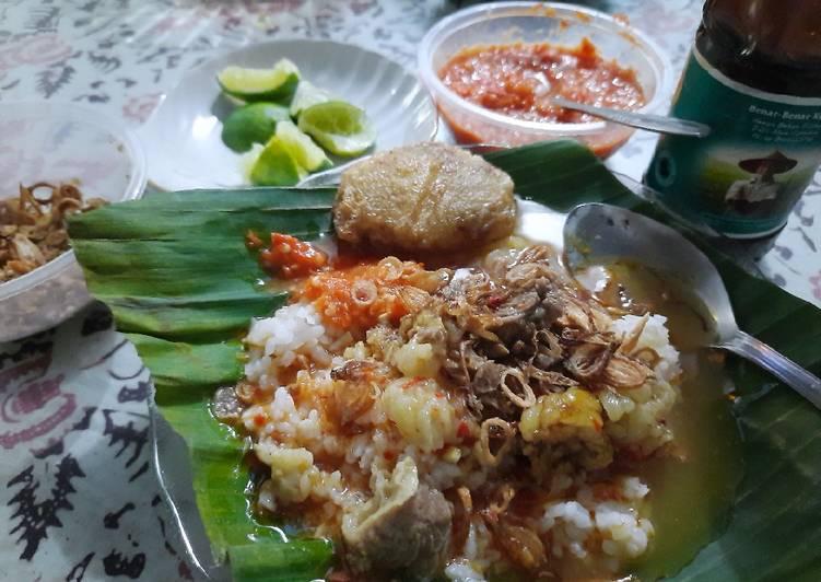 Nasi Gandul tanpa Santan