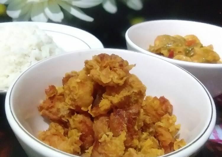 Tepung krispi per 1kg untuk bakulan, untuk udang,ayam, jamur